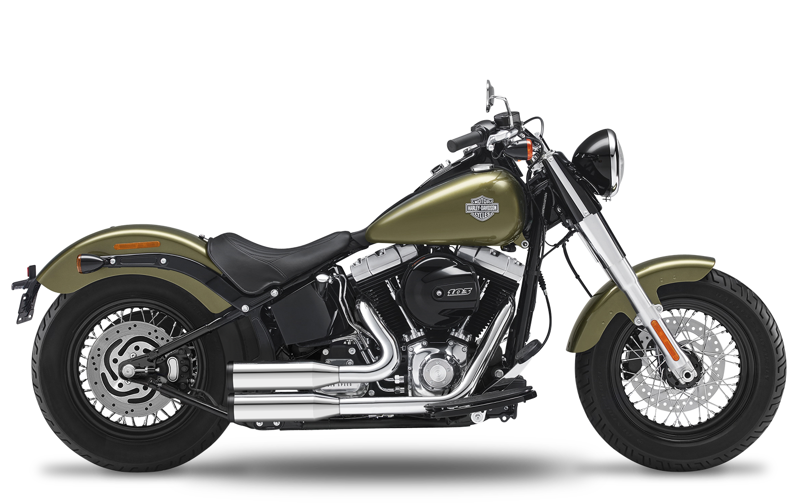 Softail - Slim - TC103 - 2012-2016 - Complete systems