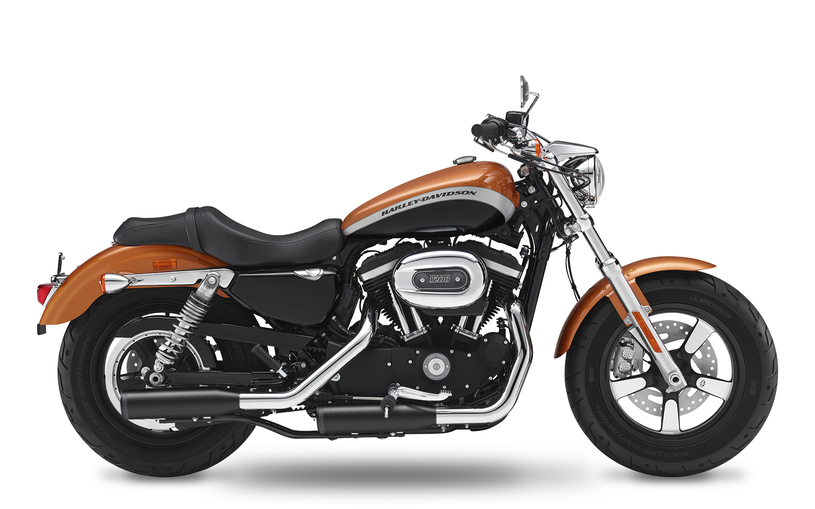 Sportster - 1200 Custom - XL - 2004-2006 - Slipons