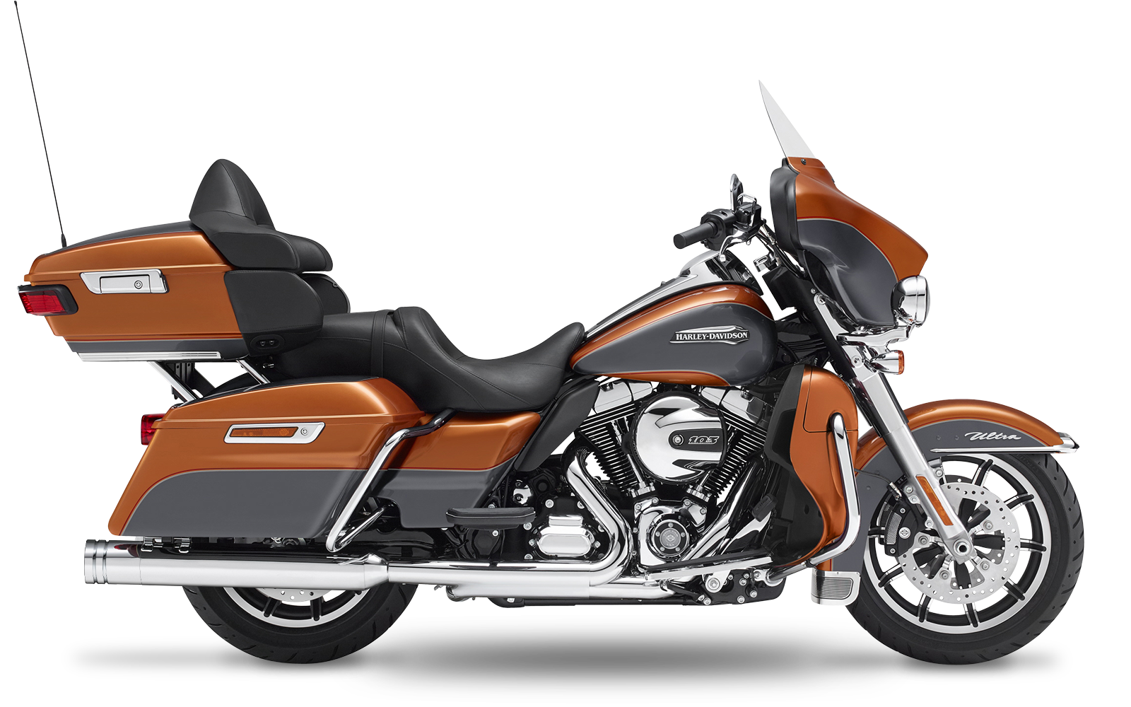 Touring - Electra Glide Ultra Classic - TC96 - 2007-2008 - Slipons