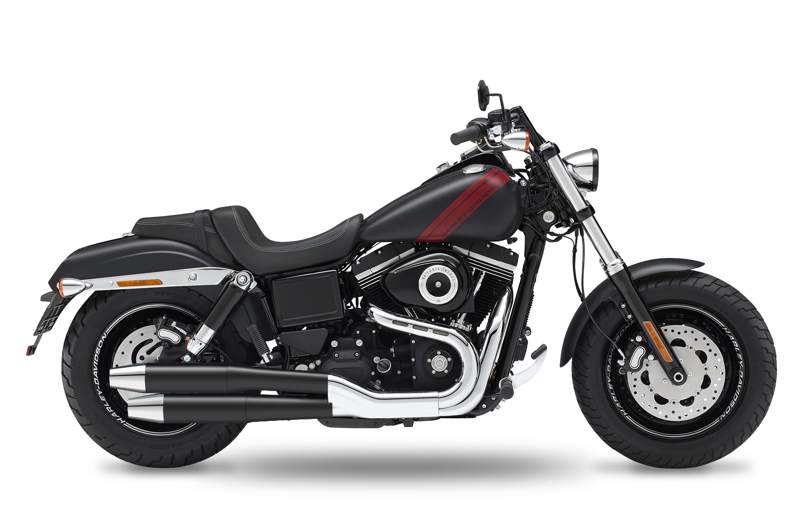 Dyna - Fat Bob - TC103 - 2013-2016 - Slipons