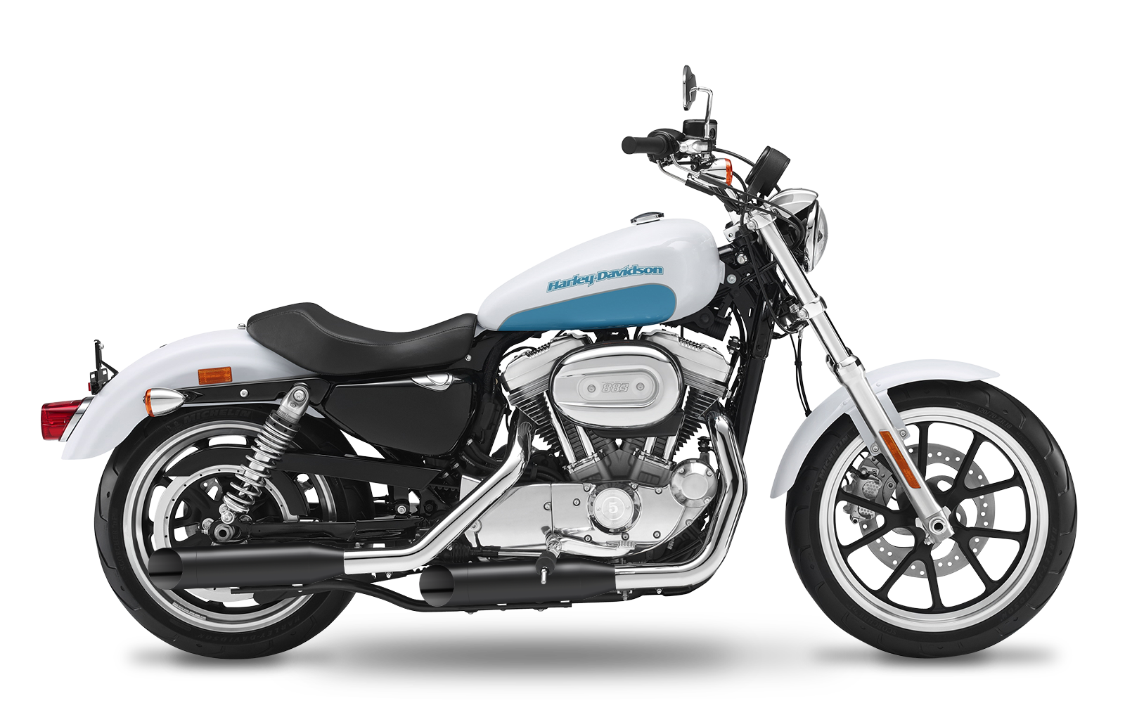 Sportster - 883 Custom - XL - 2004-2006 - Slipons