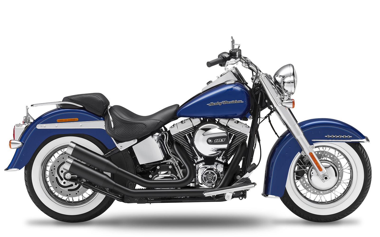 Softail - Blackline - TC96 - 2007-2013 - Komplettanlage