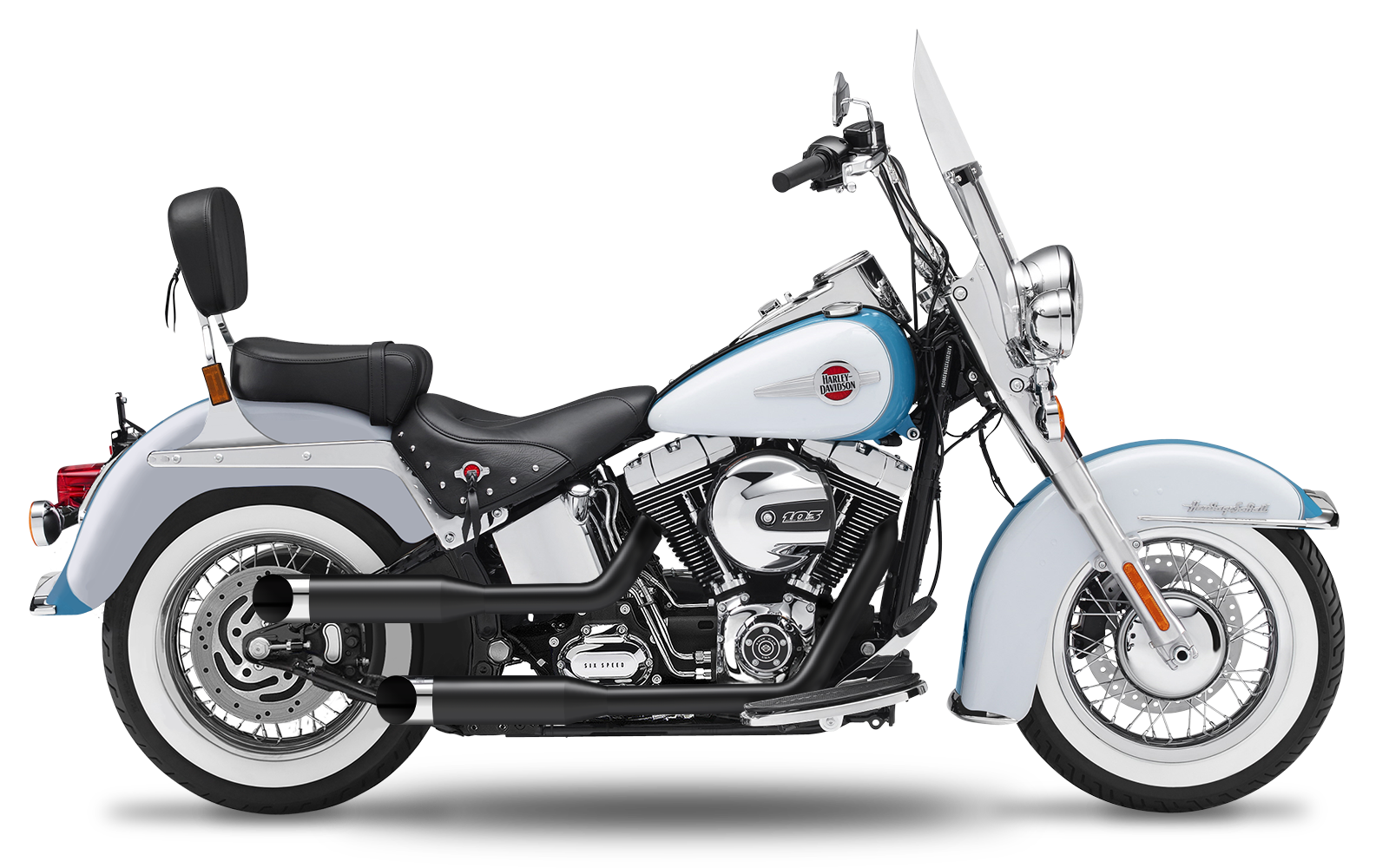 Softail - Heritage Classic - TC96 - 2007-2011 - Complete systems adjustable