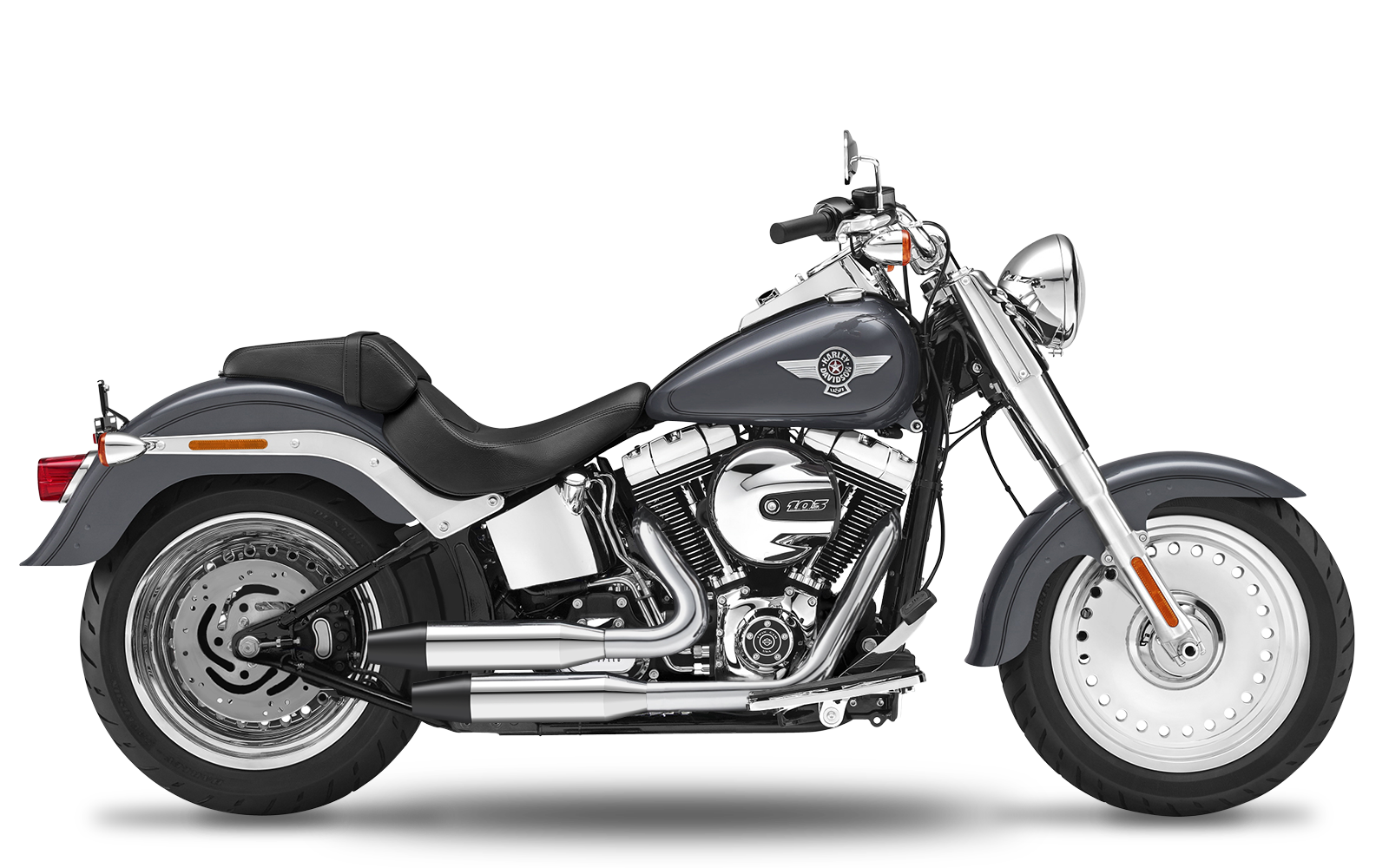 Softail - Fat Boy - TC103 - 2017 - Complete systems