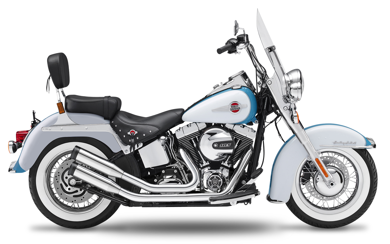 Softail - Heritage - TC88 - 2000-2006 - Complete systems adjustable