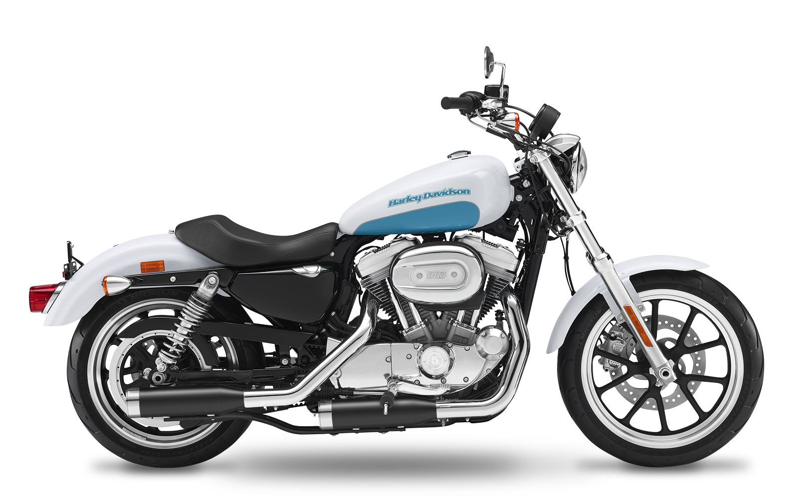 Sportster - 883 Custom - XL - 2007-2013 - Slipons