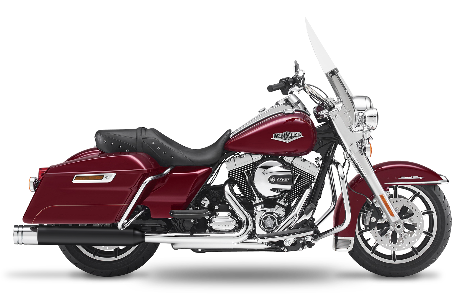 CVO - CVO Road King - TC110 - 2007-2008 - Endtöpfe