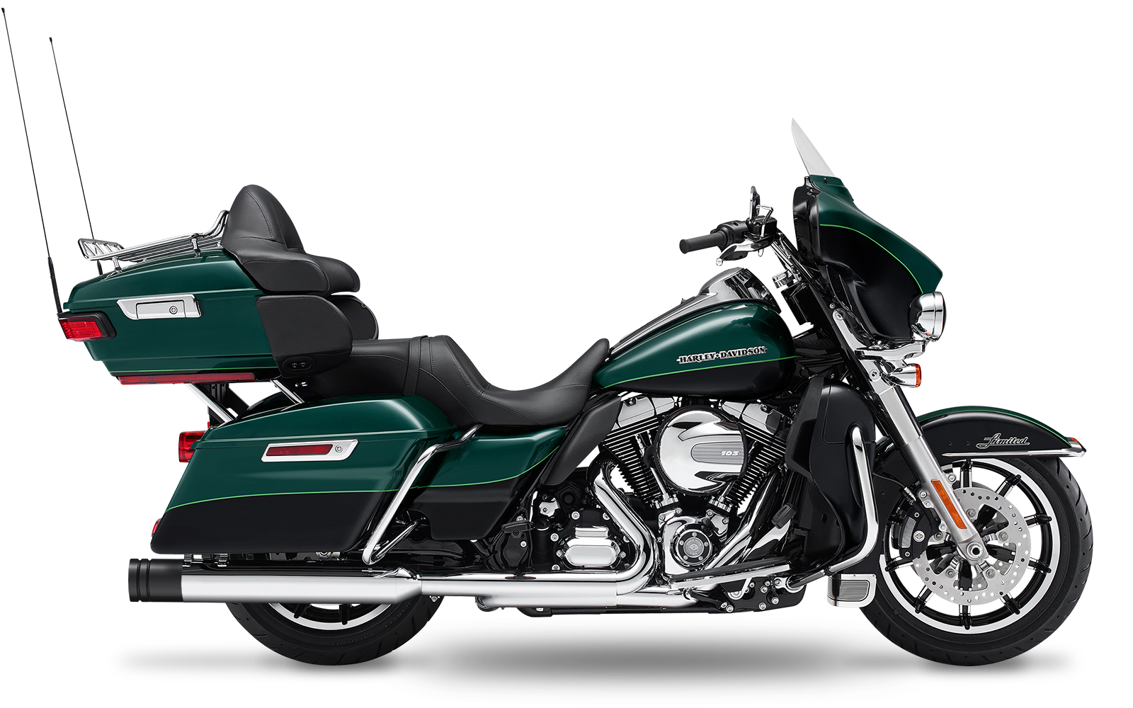 Touring - Electra Glide Ultra Limited Low - TC103 - 2015-2016 - Slipons
