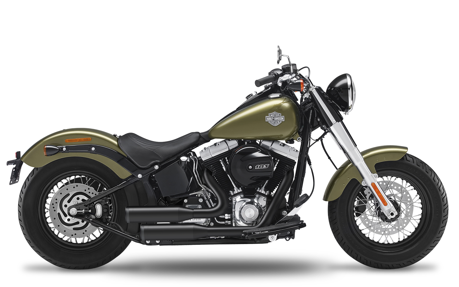 Softail - Slim S - TC110 - 2016-2017 - Complete systems adjustable