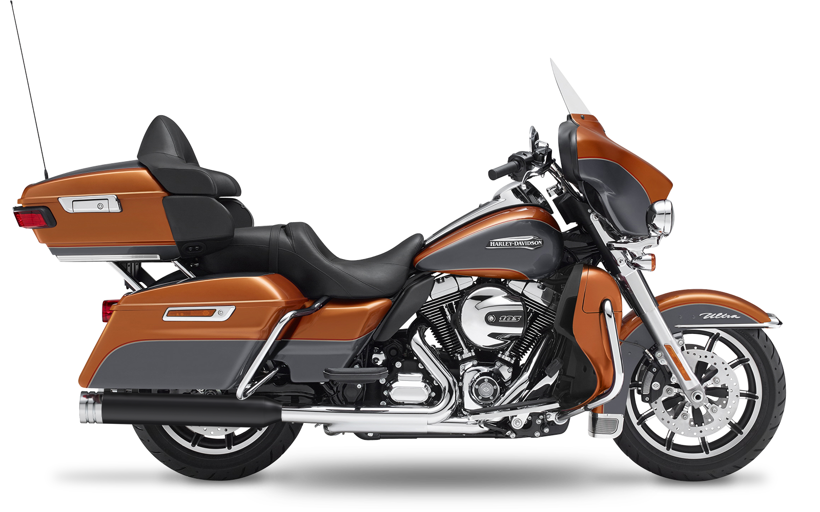 Touring - Electra Glide Ultra Classic - TC103 - 2009-2013 - Slipons