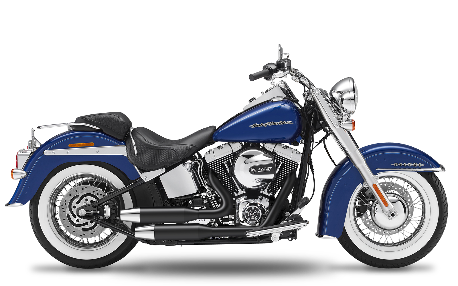 Softail - Deluxe - TC103 - 2012-2016 - Complete systems adjustable