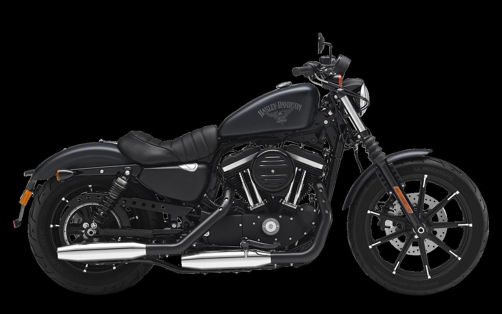 Sportster - Iron 883 - XL - 2014-2016 - Slipons adjustable