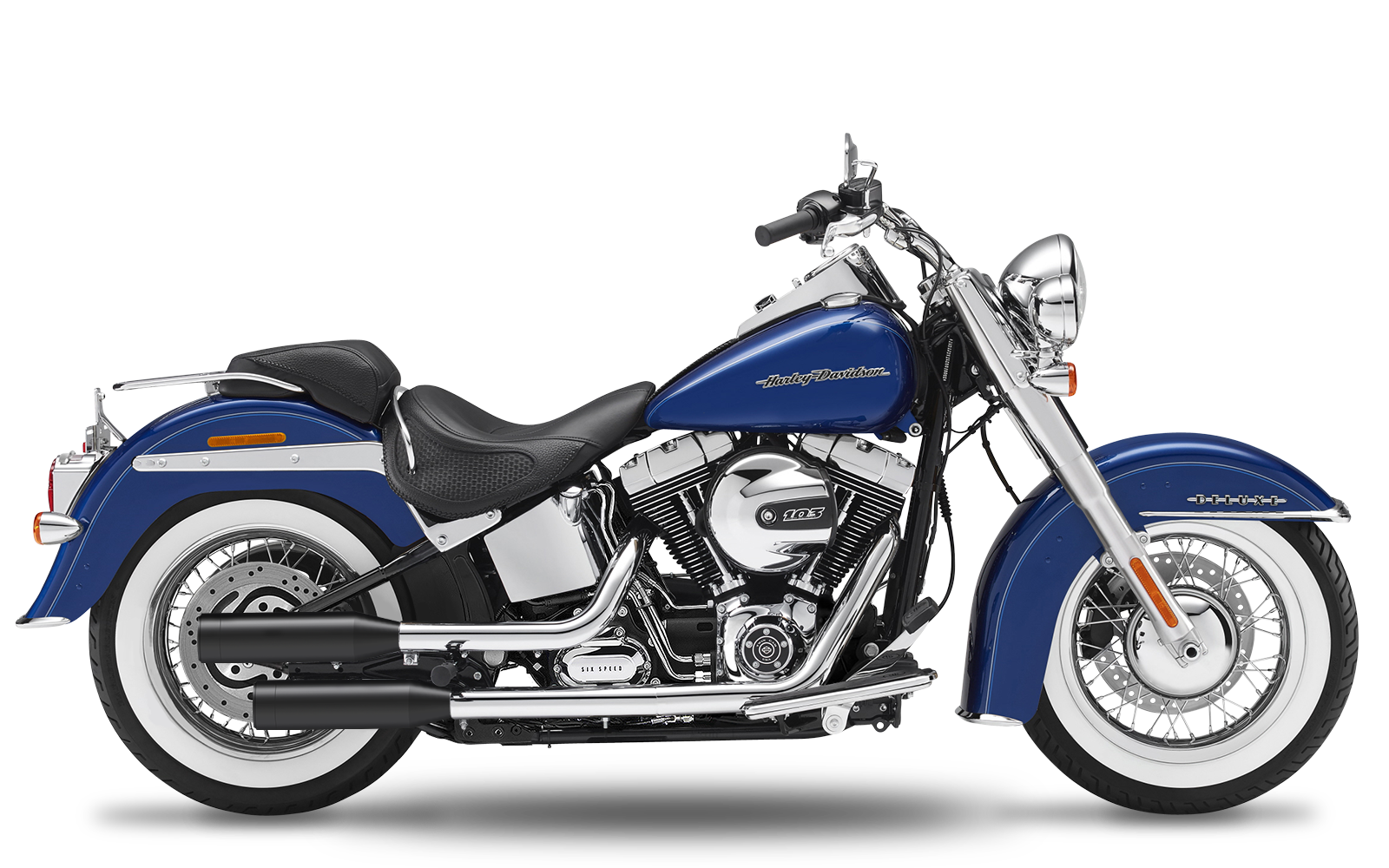 Softail - Cross Bones - TC96 - 2007-2011 - Endtöpfe