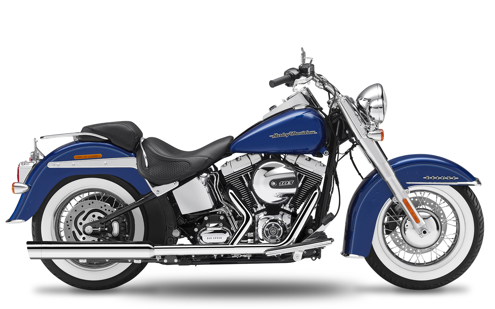 Softail - Blackline - TC96 - 2007-2013 - Endtöpfe