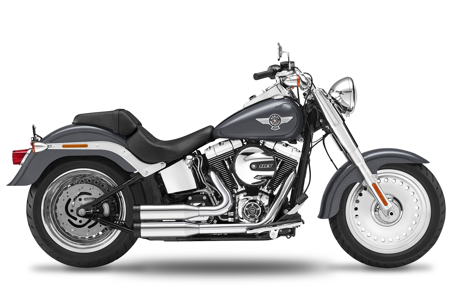 Softail - Deluxe - TC103 - 2017 - Complete systems adjustable