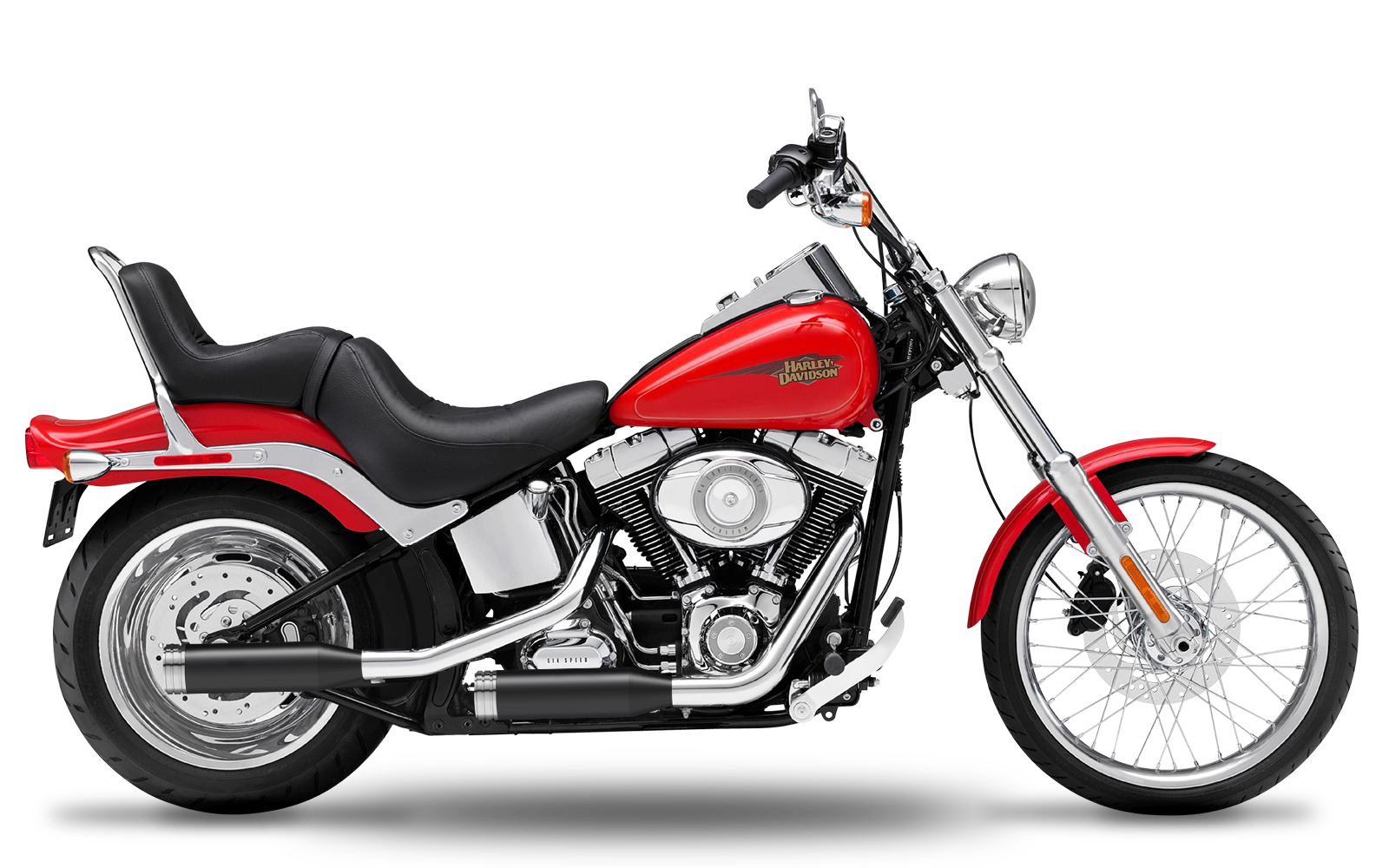 Softail - Standard - Evolution - -1999 - Endtöpfe