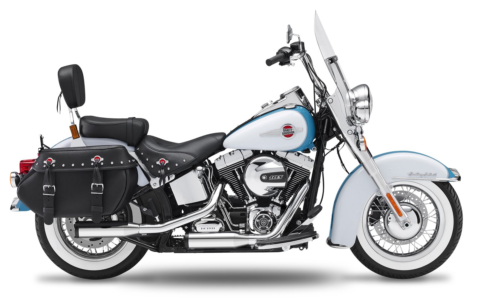 Softail - Heritage - Evolution - -1999 - Endtöpfe