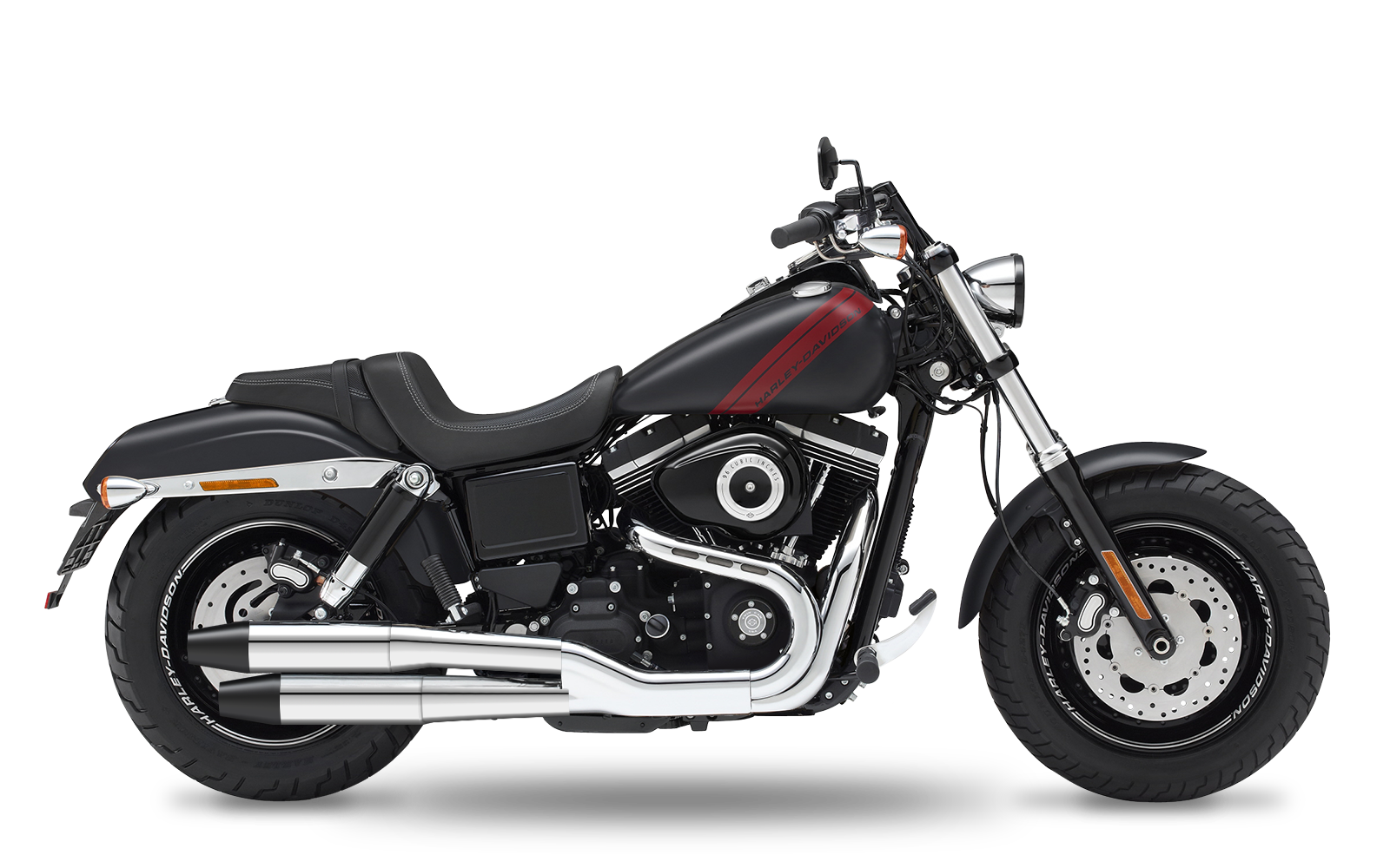 Dyna - Fat Bob - TC96 - 2010-2012 - Slipons
