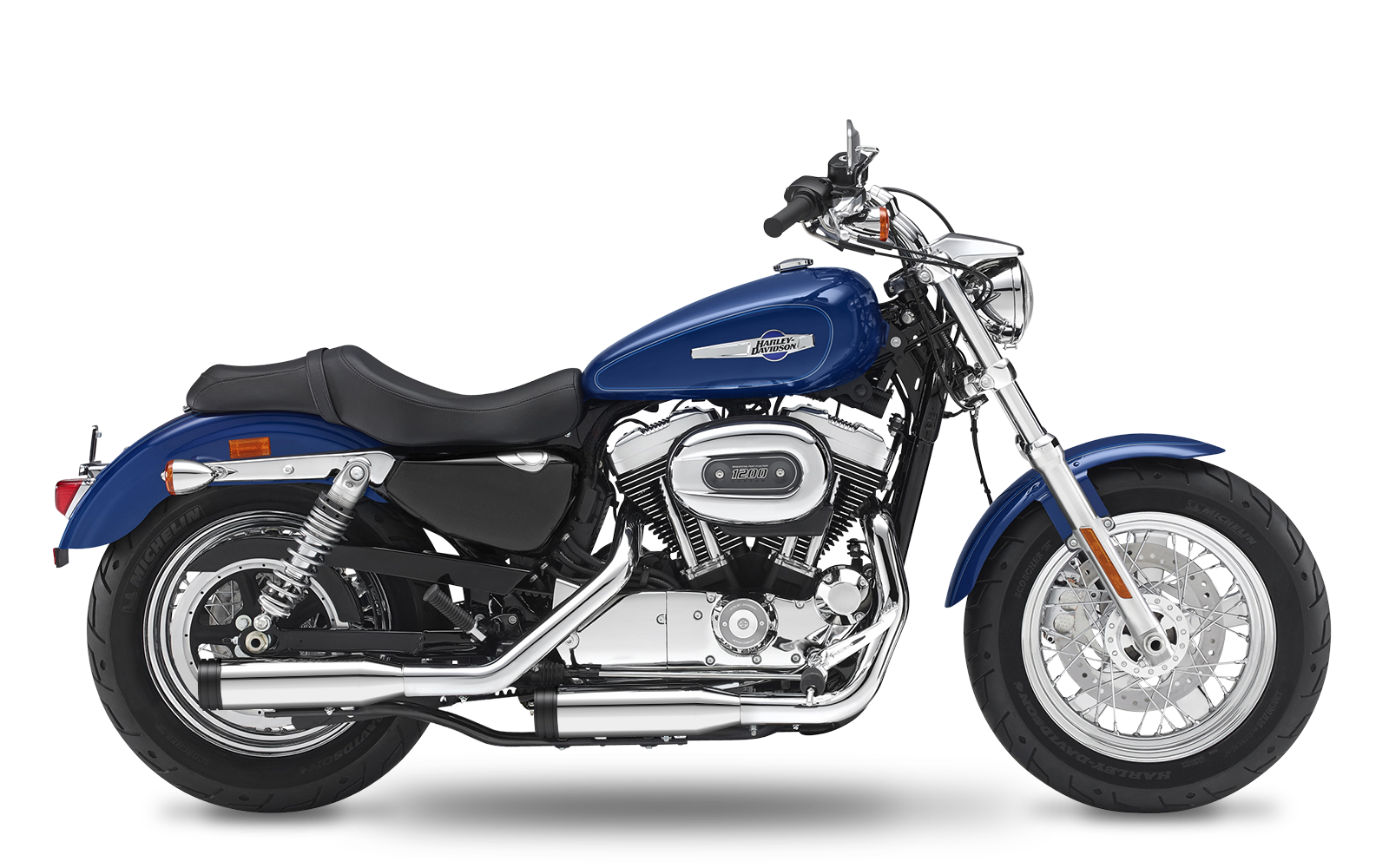 Sportster - 1200 Custom - XL - 2014-2016 - Slipons