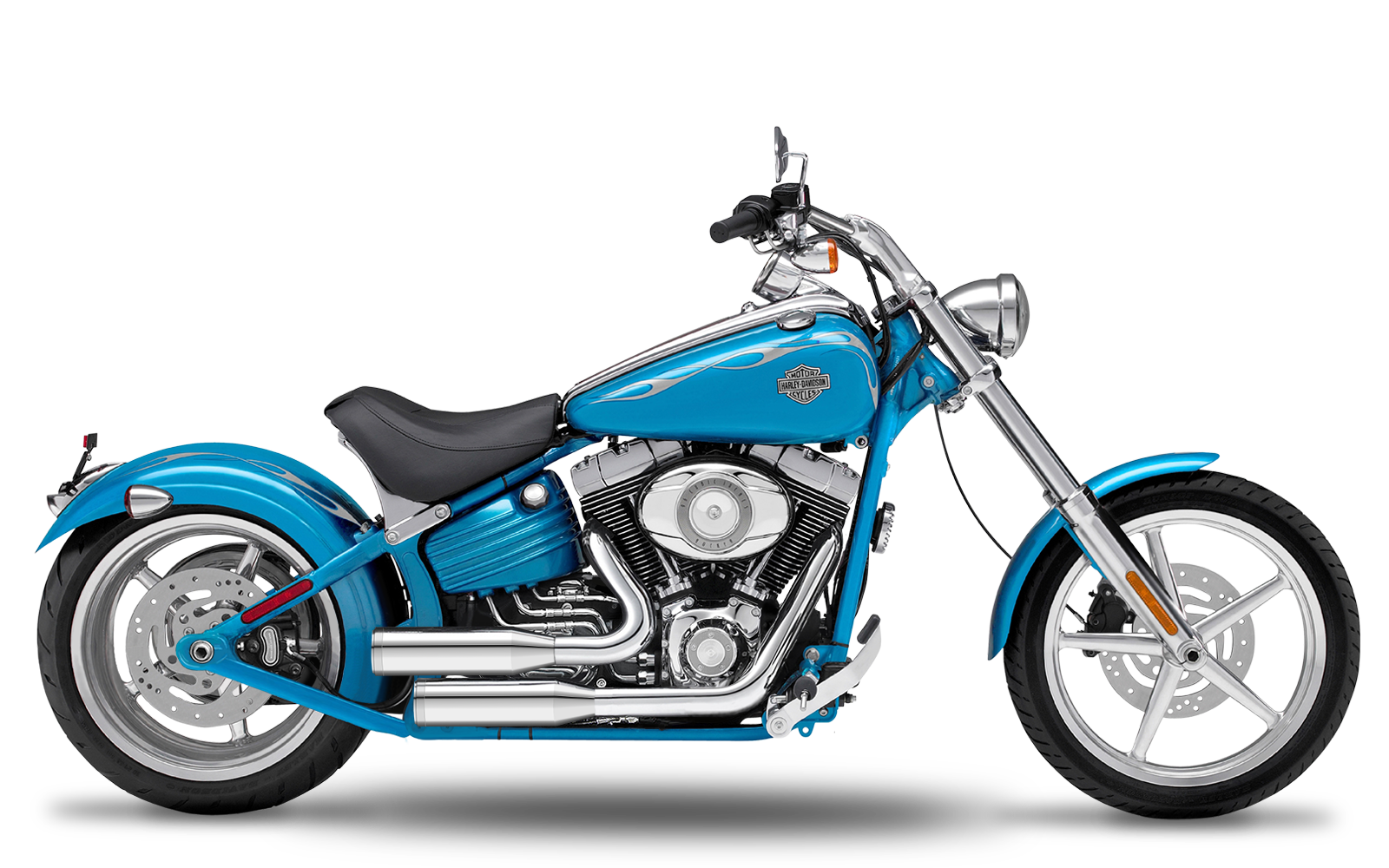 Softail - Rocker C - TC96 - 2007-2011 - Complete systems adjustable