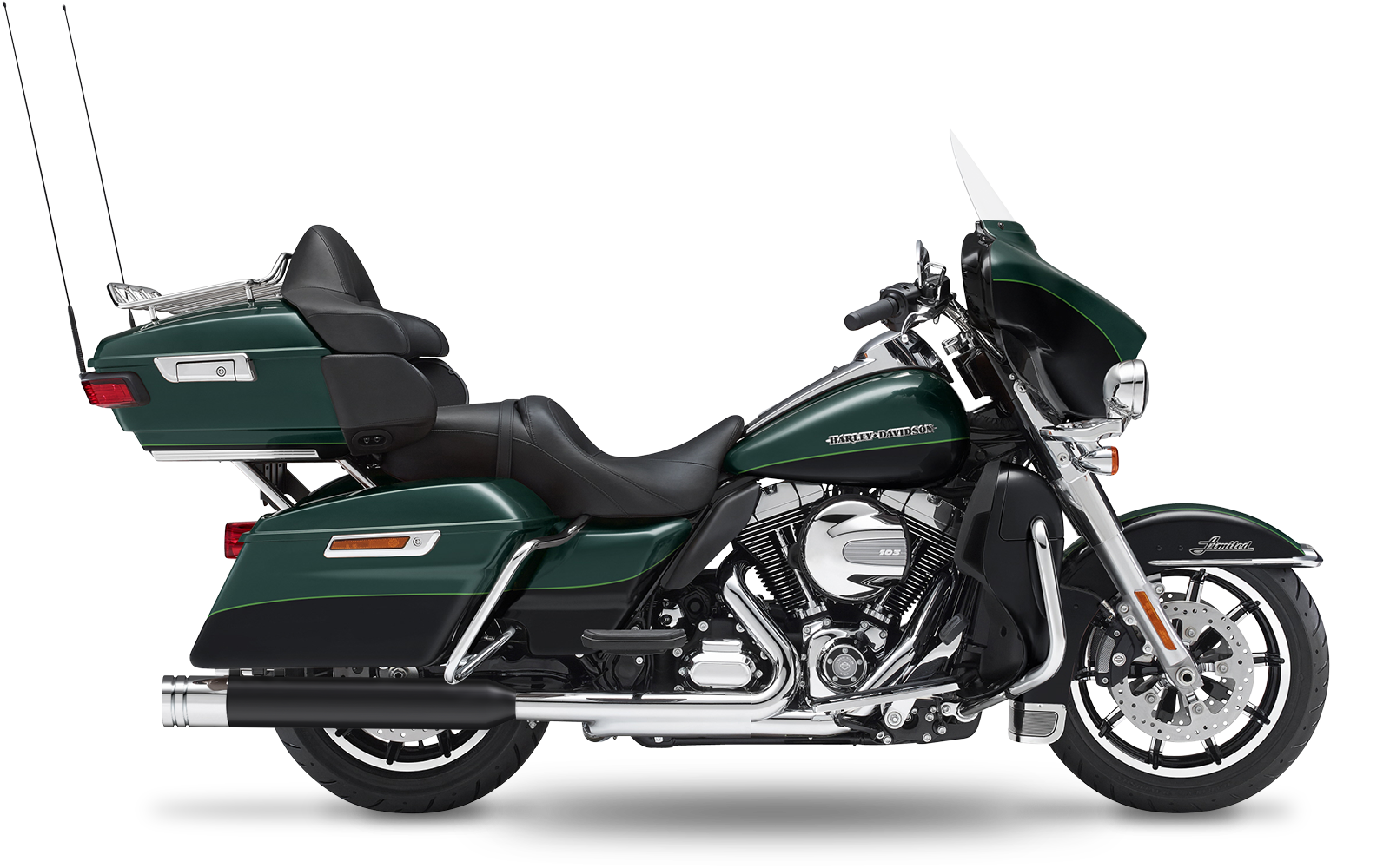 Touring - Electra Glide Ultra Limited - TC103 - 2009-2013 - Slipons