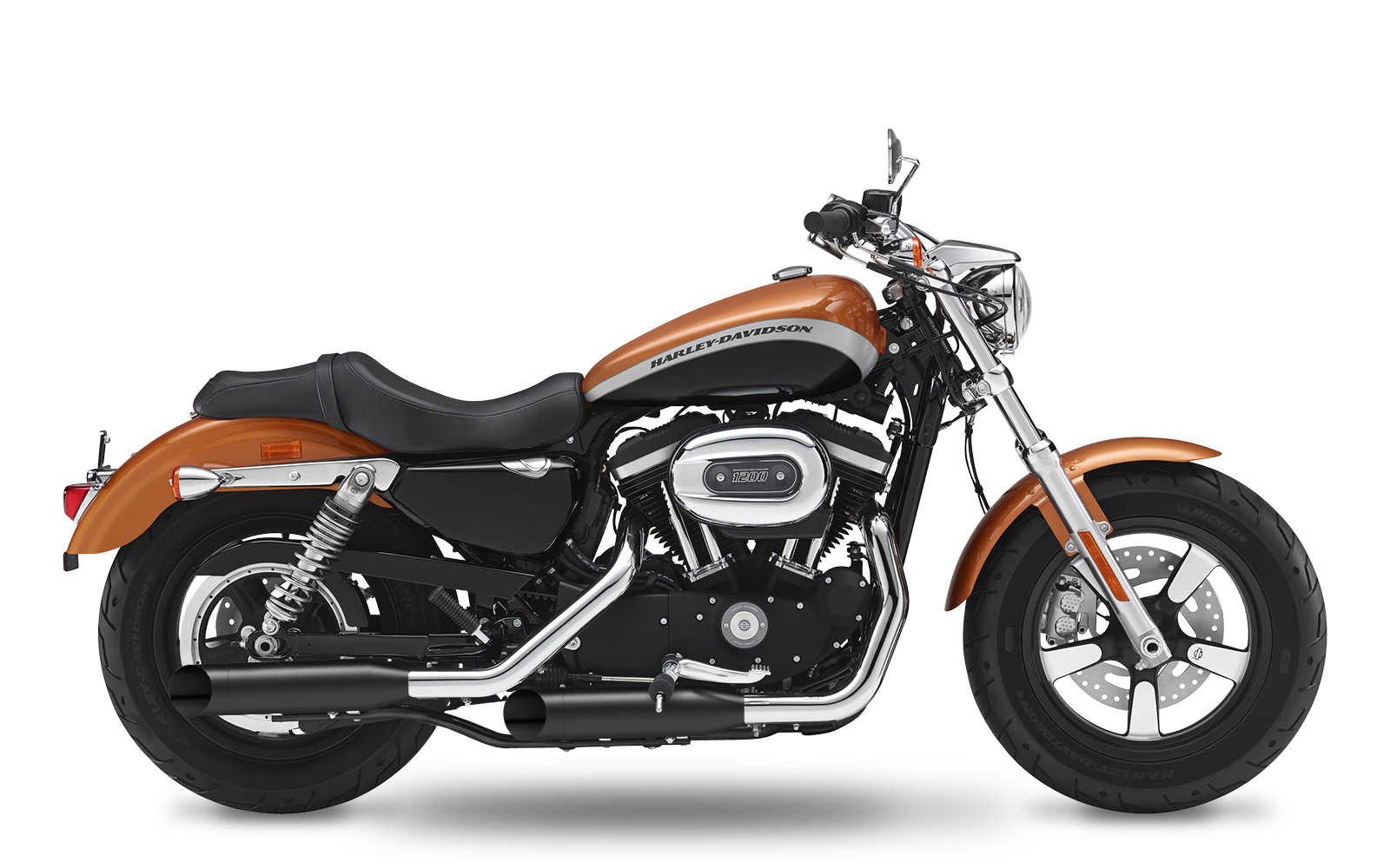 Sportster - 1200 Custom - XL - 2007-2013 - Slipons