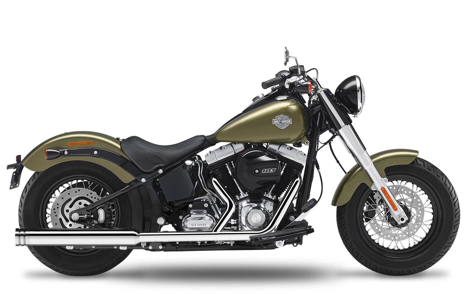 Softail - Slim - TC103 - 2012-2016 - Slipons