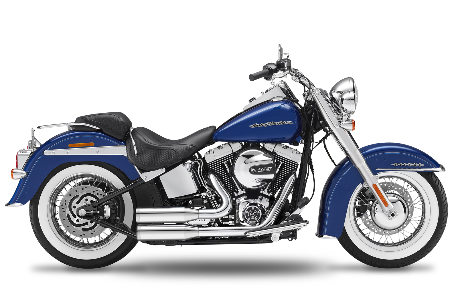 Softail - Deluxe - TC88 - 2000-2006 - Complete systems adjustable