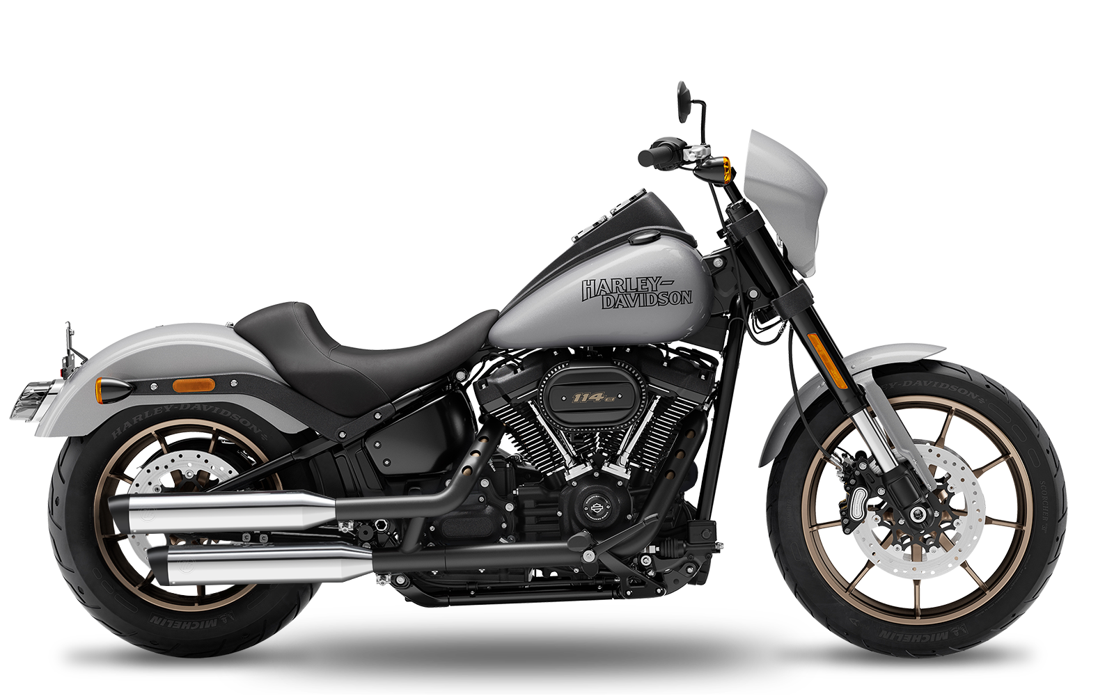Softail - Low Rider S - ME114 - 2020 - Endtöpfe