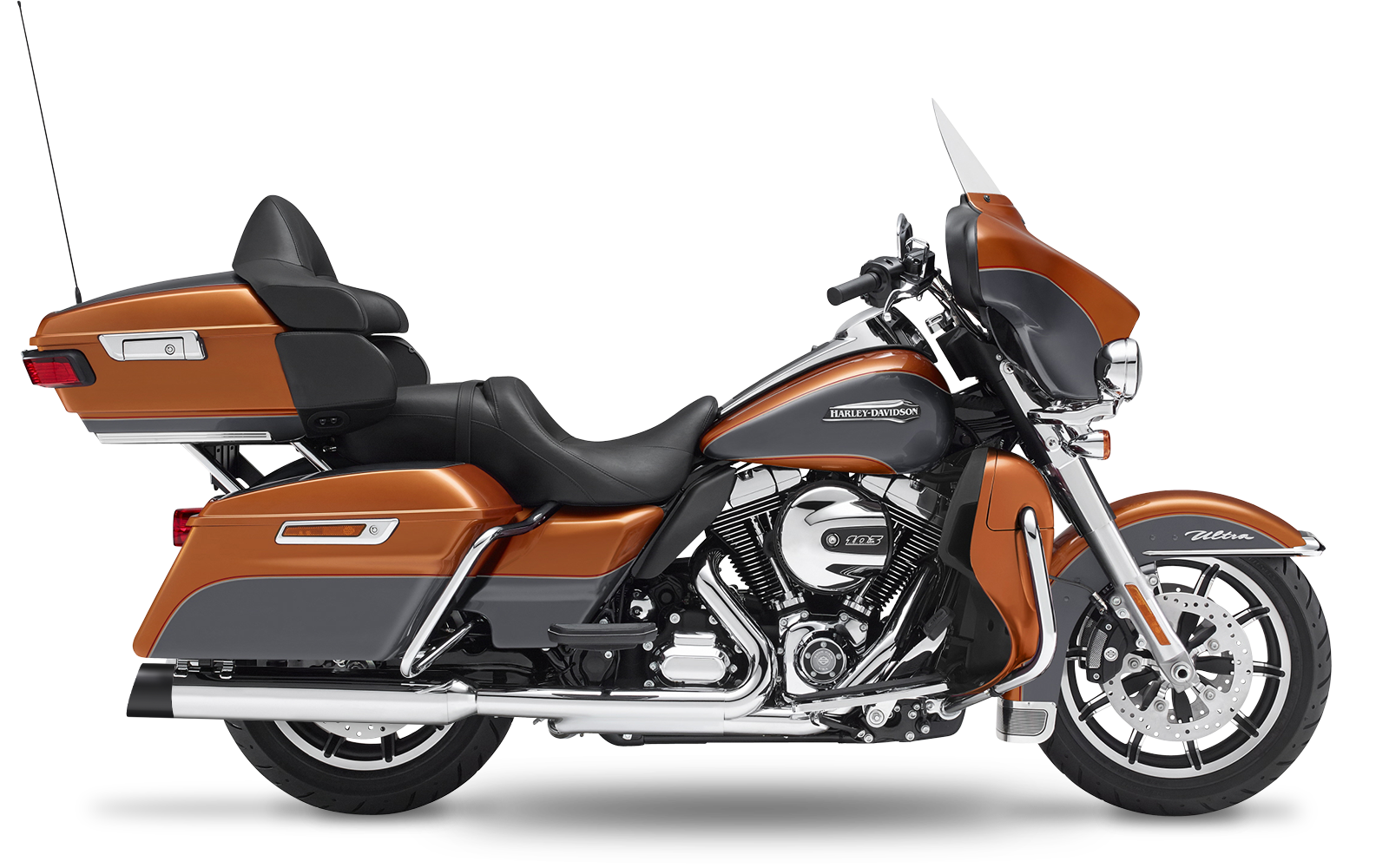 Touring - Electra Glide Ultra Classic - TC103 - 2014-2016 - Slipons